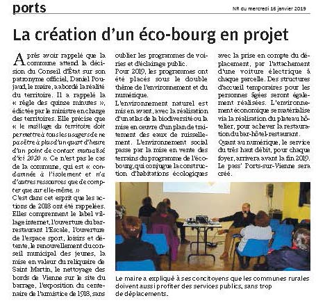NR 37W 20190116 extraits PORTS ECOBOURGG