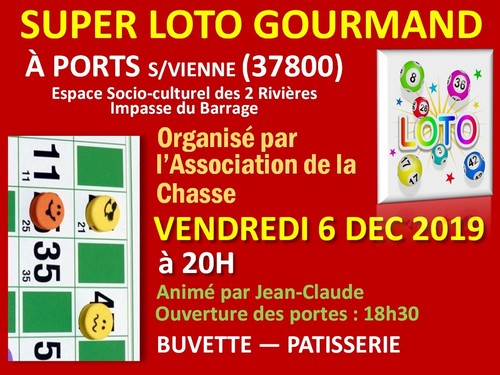 LOTO CHASSE  6 12 2019 500